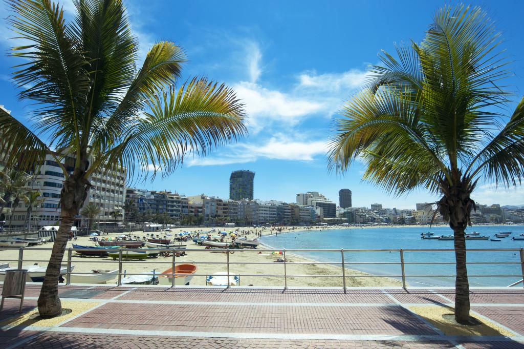 Pakkerejser med rutefly til Gran Canaria er meget populære